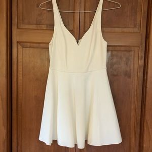 White dress from Urban Outfitters